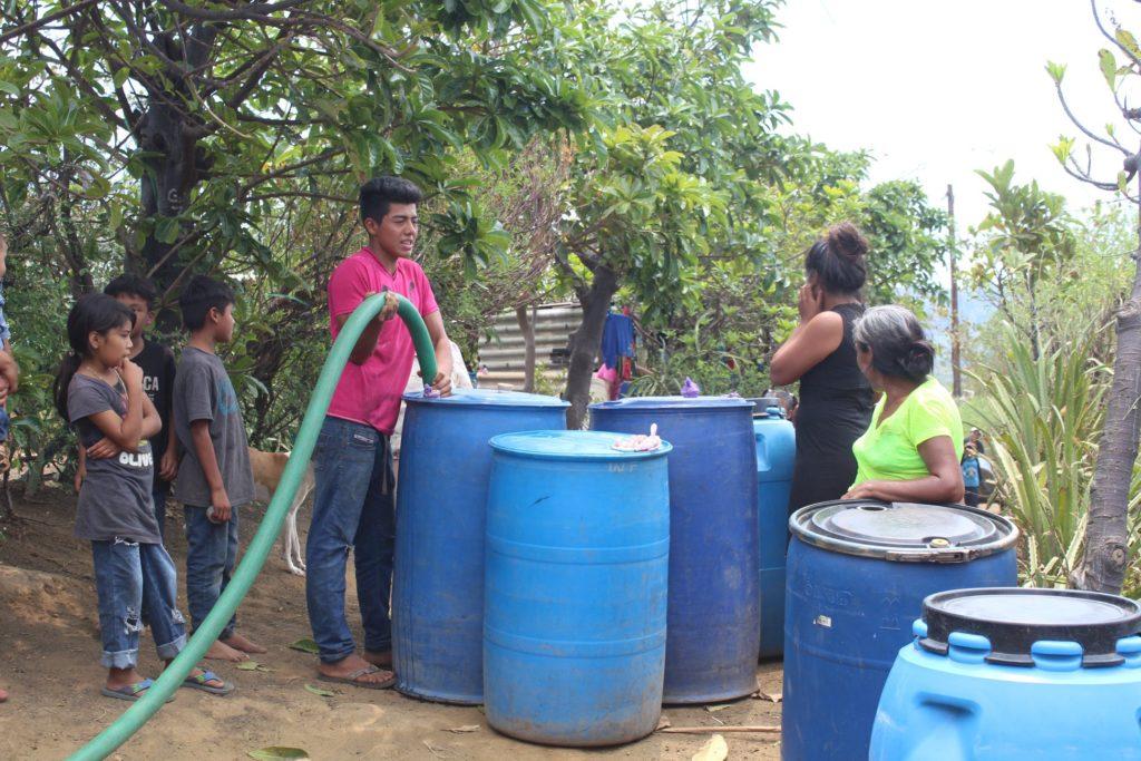 Community feeling Water Barrels